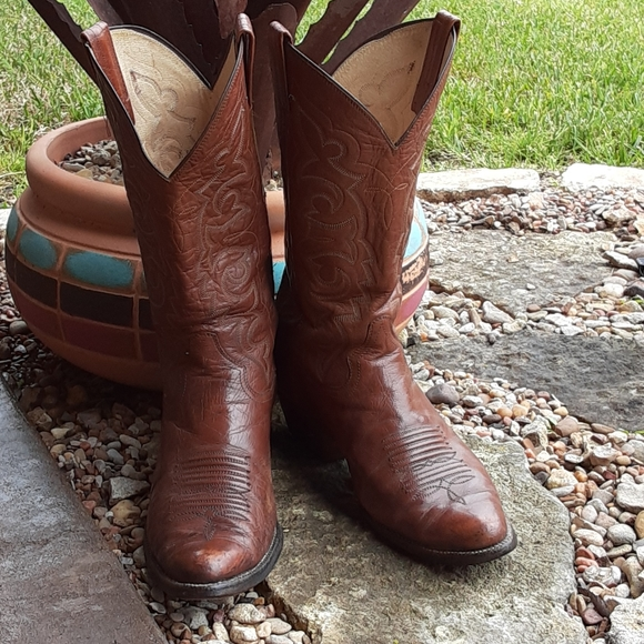 Vintage Panhandle Slim Cowboy Boots 9EE